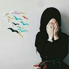 Modest Fashion Hijab, Casual Hijab Outfit, Hijab Chic, Muslim Girls, Muslim Women, Hijab Dpz, Hijab Collection, Stylish Dpz, Girl Thinking