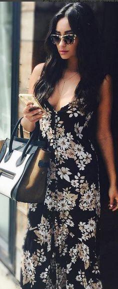 Shay Mitchell in Purse – Celine Dress – Flynn Skye