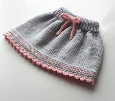 Baby skirt knitted baby skirt merino wool skirt gray and pink skirt MADE TO ORDE . Baby skirt knitted baby skirt merino wool skirt gray and pink skirt MADE TO ORDER - Knitting For Kids, Baby Knitting Patterns, Hand Knitting, Knitting Wool, Baby Girl Skirts, Baby Skirt, Rosa Rock, Knit Skirt, Wool Skirts