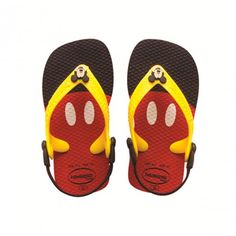 Get Mickey to the beach ! http://www.littlefashiongallery.com/fr/mode-enfant/havaianas/tongs-disney-classic-rouge/