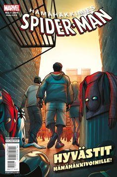 Hämähäkkimies - Spider-Man nro 1/2014. #sarjakuva #sarjakuvalehti #sarjis #egmont #marvel
