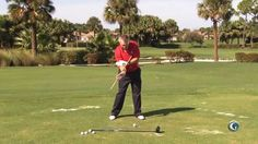 Martin Hall shows a drill you can do to keep you from throwing the club at the bottom of the swing.