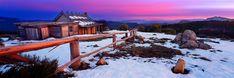 Craigs Hut - Mt Stirling - Victoria - beautiful photo by Mark Gray, Australia - copyright