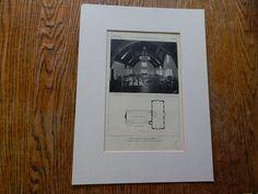 Elmira College Library #2, Elmira, NY, 1928, Lithograph. Coolidge, Shepley, Bulfinch & Abbott.
