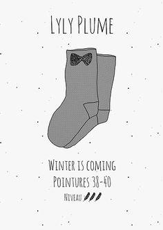 L'hiver approche, il faut s'équiper pour les longues soirées! Voici un tuto gratuit à télécharger en pdf pour réaliser vos propres chaussettes en pilou pilou!
