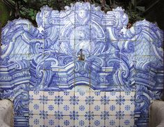 Azulejos antigos no Rio de Janeiro: Alto da Boa Vista II - Museu do Açude - Azulejos