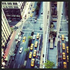 We've got a prime view of #NYC street life from our balcony suites. #birdseyeview