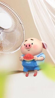 Pig Wallpaper, Disney Wallpaper, This Little Piggy, Little Pigs, Cute Piglets, Wonder Art, Pig Drawing, Pig Illustration, Funny Pigs
