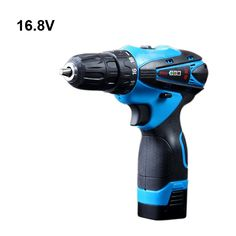 16.8V Electric Drill Cordless Screwdriver Rechargeable Parafusadeira Furadeira Battery Electric Screwdriver Power Tools