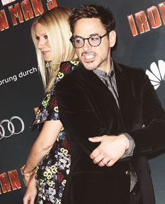 Robert Downey Jr. and Gwenyth Paltrow