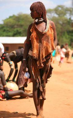 Hamar girl - Southern Ethiopia.
