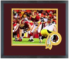 """Kirk Cousins 2013 Washington Redskins - 11"""" x 14"""" Matted and Framed Photo"""
