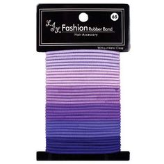 Thin Fashion Ponytail Holders Purple *** Click image for more details.(This is an Amazon affiliate link and I receive a commission for the sales)