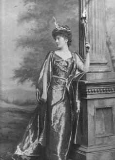 Lady Sophie (Beatrix Mary) Scott, née Cadogan (1874-1937) as Megaera the Fury (Devonshire House Ball, 1897)