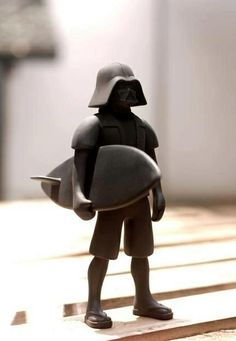 #Surf vader or dark #surfer. You should not underestimate the power of the dark....wave.