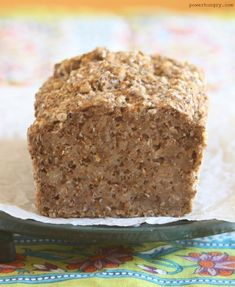 Buckwheat, Flax and Chia Bread Gluten Free Recipes, Bread Recipes, Flour Recipes, Buckwheat Recipes, Buckwheat Bread Machine Recipe, Food Words, How To Make Bread, Food Print, Yummy Recipes