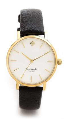 Love the Kate Spade New York Classic Metro Watch on Wantering | Kate Spade | womens watch | womens jewelry | fashion | style | wantering http://www.wantering.com/womens-clothing-item/classic-metro-watch/agcox/