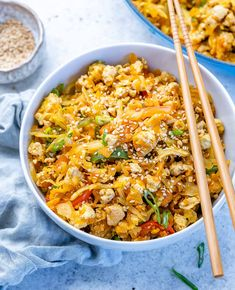 Quick Recipes, Clean Recipes, Eggroll In A Bowl, Quick Stir Fry, Food Crush, Clean Eating Dinner, Egg Rolls, Healthy Eating Recipes, Meal Planning