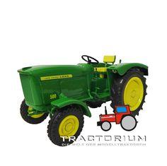 Mintrac John Deere Lanz 500 Traktor 1/32
