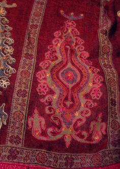 BAJRA 100% Merino Wool Blanket Scarf Shawl Handmade  Nepal Woven  w Red Fringe  #Bajra #ShawlWrap