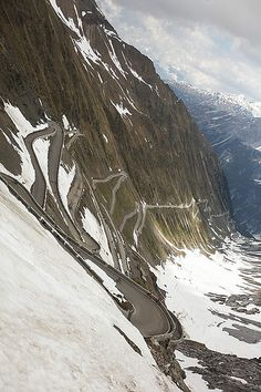 The greatest driving road .....in the World; Stelvio Pass, Italy (we did actually drive on this road in my S4 V8 cabriolet in 2009)