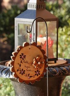 Cute wooden wedding sign decor.