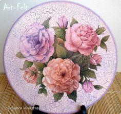 Декор предметов Декупаж Декупаж тарелок - 1 Салфетки фото 16