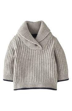 Image - Mini Boden Retro Sweater for Baby Boys Crochet For Boys, Knitting For Kids, Baby Knitting Patterns, Boy Crochet, Crochet Jumper, Free Knitting, Little Boy Fashion, Baby Boy Fashion, Baby Boy Outfits