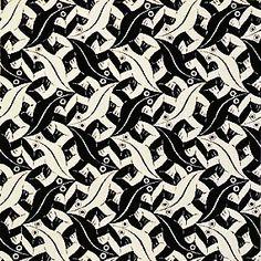 m.c. escher #Escher #MCEscher                                                                                                                                                     Más