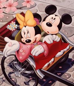 Minnie Y Mickey Mouse Cartoon Wallpaper Car Pictures Disney Mickey Mouse, Mickey Mouse E Amigos, Minnie Mouse Cartoons, Mickey Love, Mickey Mouse And Friends, Disney Cartoons, Wallpaper Do Mickey Mouse, Disney Wallpaper, Cartoon Wallpaper