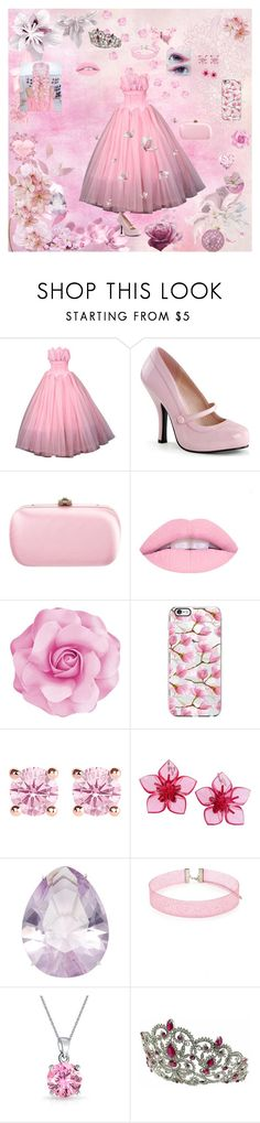 """pastel pink princess"" by icyraindancer on Polyvore featuring Pinup Couture, Gucci, Shin Choi, Thomas Sabo, Dsquared2, Paolo Costagli, Forever 21, Bling Jewelry and Kate Marie"