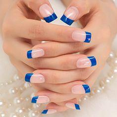 Acrylic nails – clever solution for brittle nails – Long Nails – Long Nail Art Designs French Tip Acrylic Nails, Acrylic Nail Shapes, Acrylic Nail Designs, French Nails, Nail Art Designs, Gel Nails, Manicure, Nail Polish, Toenails