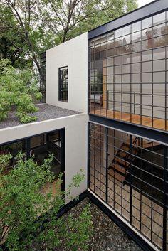 Casa Estudio Hill,Mexico / CCA Centro de Colaboración Arquitectónica © Onnis Luque