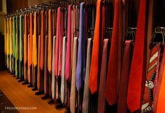 Tie Racks at Hermes