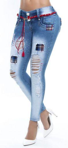 Jeans levanta cola WOW 86267