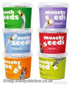 Munchy Seeds snack packaging