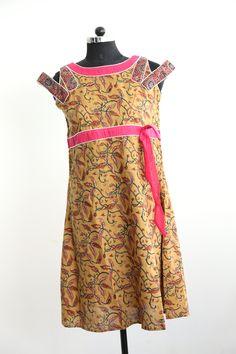 Kalamkari Khadi dress