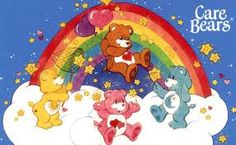Care Bears! Loved it, especially the move! I had Bedtime Bear, and I think I had Tenderheart Bear...and maybe Cheer Bear...