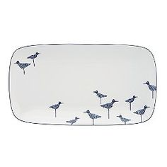 wickford sandpiper hors d'oeuvers tray - kate spade