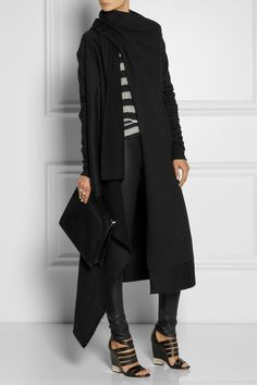 OAK | Cotton-blend fleece wrap | NET-A-PORTER.COM