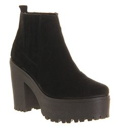 Buy Black Suede Office Cuckoo Chelsea boots from OFFICE.co.uk.