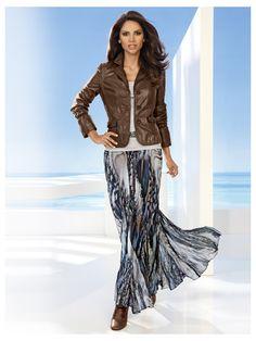 Jupe longue imprimée - http://www.helline.fr/Jupe-imprimee/an030778X/HellineFr?ShopID=sh9570130sp10021272329=Outfit-Tipp