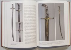 """Georgian sword from """"Arms of the Paladins:The Richard R. Wagner Jr. Collection of Fine Eastern weapons"""" by Oliver Pinchot. For almost 40 years Richard Wagner has been assembling a remarkable collection of Indo-Persian weapons. His collection has been published here using high-resolution photographs and accurate accompanying notes to illustrate the high standards applied to Eastern arms crafting and to their enduring presence."""