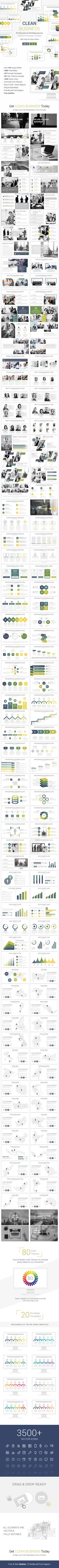 Clean Business PowerPoint Presentation Template - Business #PowerPoint #Templates Download here: https://graphicriver.net/item/clean-business-powerpoint-presentation-template/20139237?ref=alena994