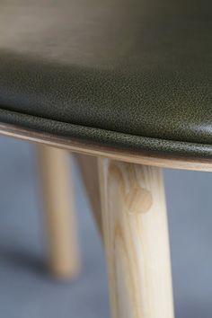 Sim-Ply - Leather Detail | by HALDANE MARTIN