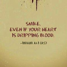 Smile (Imam Ali a.s.)