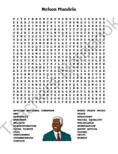 Viewing 1 - 20 of 23514 results for nelson mandela word search Nelson Mandela For Kids, Bullying Worksheets, African National Congress, Racial Equality, Nobel Peace Prize, Equal Rights, Physical Education, Lesson Plans, Physics