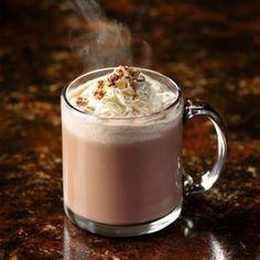 Receita de chocolate quente com creme de leite