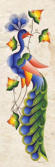 Peacock Calling I by Seeroon Yeretzian