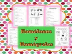 El estudiante aprenderá la diferencia entre un homófono y un homógrafo. https://www.teacherspayteachers.com/Product/Spanish-Homofonos-y-Homografos-1478197